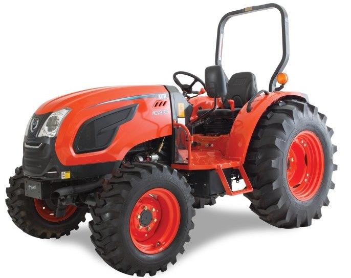 Kioti Compact Tractors : Kioti dk series kc equipment