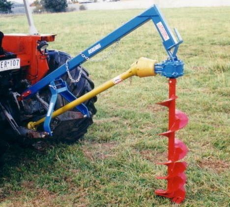 John Berends Implements Post Hole Digger Range | KC Equipment