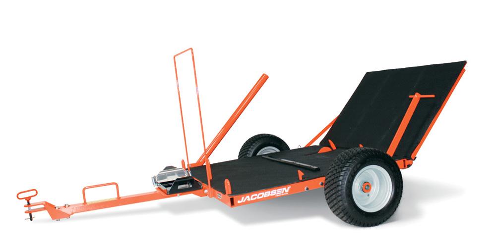 Jacobsen Mower Caddy Trailer | KC Equipment